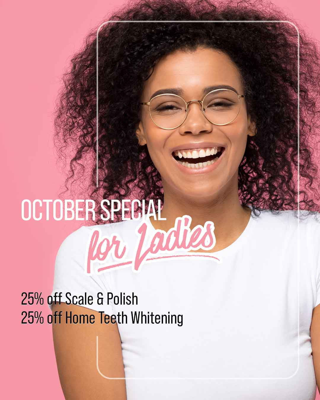 October Special for Ladies